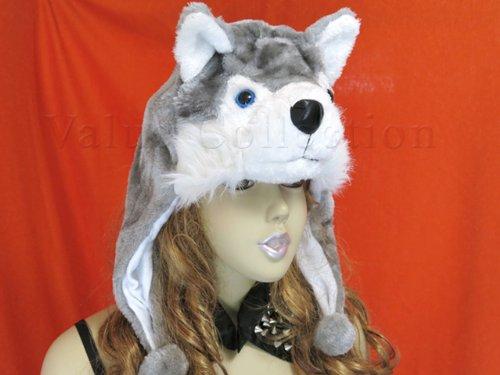 犬 帽子 ぼうし ハスキー 着ぐるみ かぶり物 被りもの コスプレ いぬ