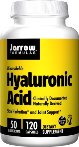 Jarrow Formulas acide hyaluronique, 50 mg, 120