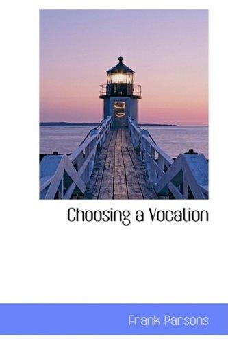 Choosing a Vocation