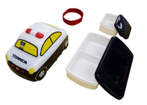 トミプラコレクション トミカ 3Dダイカット ランチボックス パトカー