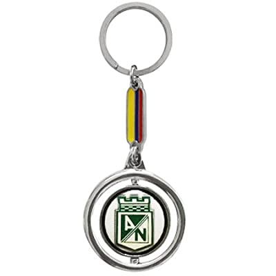 Keychain Colombia Soccer Team -ATLETICO NACIONAL-