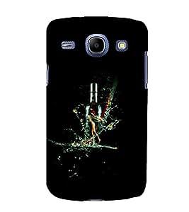 printtech Wine Bottle Splash Back Case Cover for Samsung Galaxy J1 (2016 EDITION )/ J120F (Global); Galaxy Express 3 J120A (AT&T); J120H, J120M, J120M, J120T Also known as Samsung Galaxy J1 (2016) Duos with dual-SIM card slots