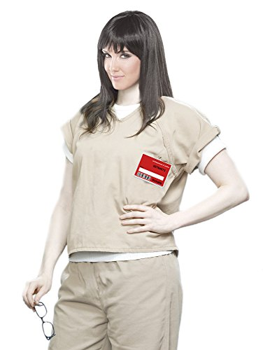 Women's Khaki Scrub Set Prisoner Costume