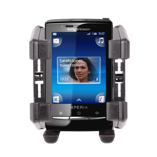 Mobile Phone Cup Holder Mount For Sony Ericsson Xperia Arc S, X10 Mini, Cedar & Xperia S, By DURAGADGET
