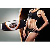 Electric Slimming Vibro Shape Massager Waist Heating Trimmer Belt Vibration Tone Body Toning Belt for Weight Loss Fat Burning Tool