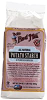 One 24 oz (1 lb 8 oz) 680 g Bob's Red Mill, Potato Starch Unmodified, Gluten Free (2-pack) from Bob's Red Mill