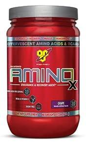 BSN AMINO X - Grape, 15.3 oz (30 Servings)