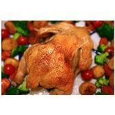 ポストカード「鳥の丸焼き ローストチキン」フォトカード絵葉書はがきハガキ葉書postcard