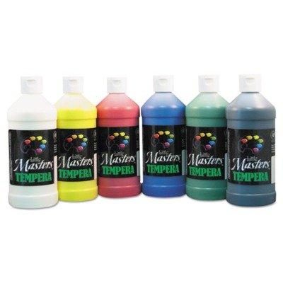 Handy Art Masters Tempera Paints Set, 6-16 oz