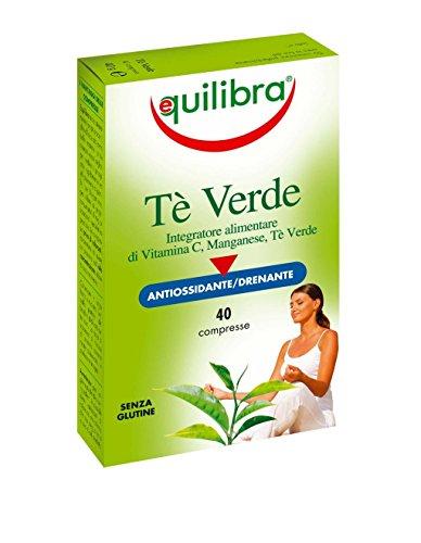 Equilibra - Tè Verde, 40 Compresse