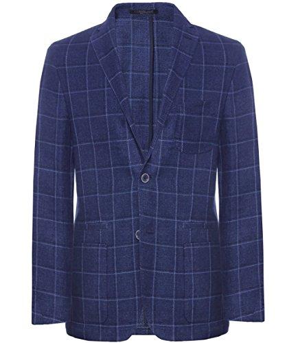 corneliani-manta-no-estructurados-check-chaqueta-azul-oscuro-eu52-uk42