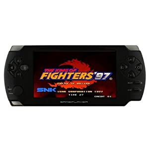 EFUN GX110 4.3'' Touch Screen Handheld Game Console MP3/MP4/MP5 Media Player PSP Style (800 Games inside) Support MAME Games/PS1 Games TF card/TV-Out/Camera 4GB