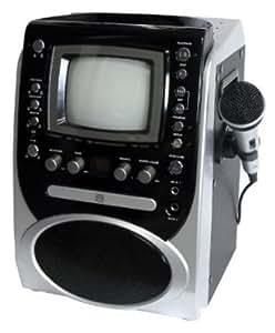 "Singing Machine STVG-519 CDG Karaoke System with 5.5"" Monitor"