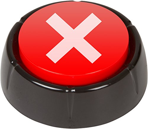 "Buy Bargain No Button - This Button Says ""No"" in Different Voices when Pressed"