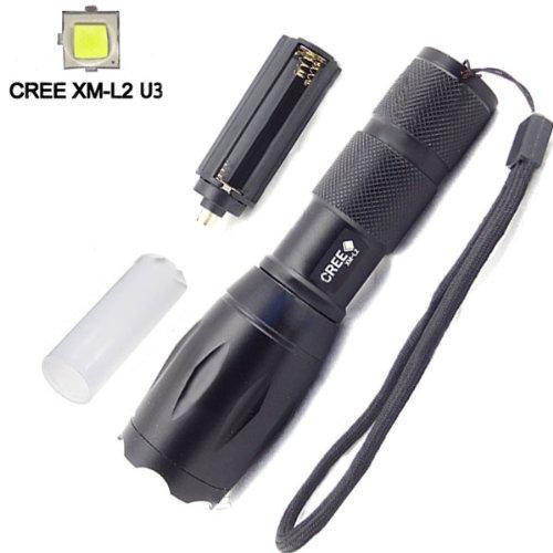 Ultrafire Cree Xm-L2 U3 2000Lm 5 Modes Zoomable Led Flashlight