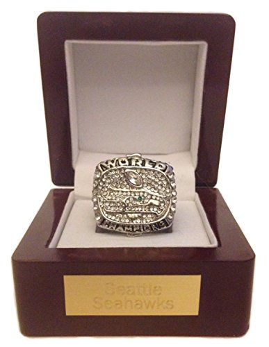 Seattle-Seahawks-Super-Bowl-Ring-Russell-Wilson-Replica-w-Display-Engraved-Plaque