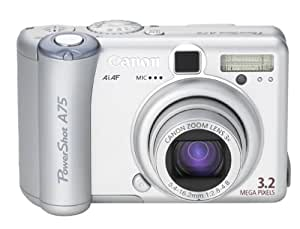 Canon PowerShot A75 3.2MP Digital Camera with 3X Optical Zoom (OLD MODEL)