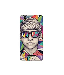 Kolor Edge Printed Back Cover for Micromax Yureka - Multicolor (4397-Ke11073MmxYurekaSub)