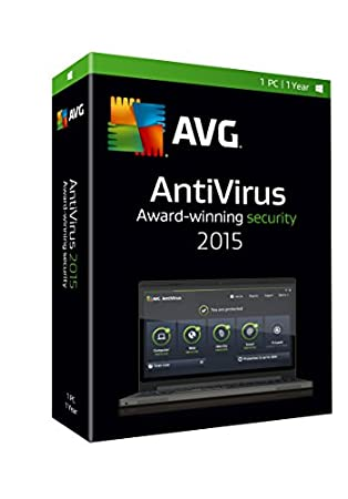 AVG ANTIVIRUS 2015, 1 USER 1 YEAR