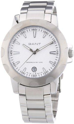GANT W10962 - Reloj analógico de cuarzo para mujer, correa de acero inoxidable color plateado