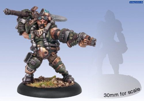 Privateer Press Mercenaries - Drake MacBain Model Kit