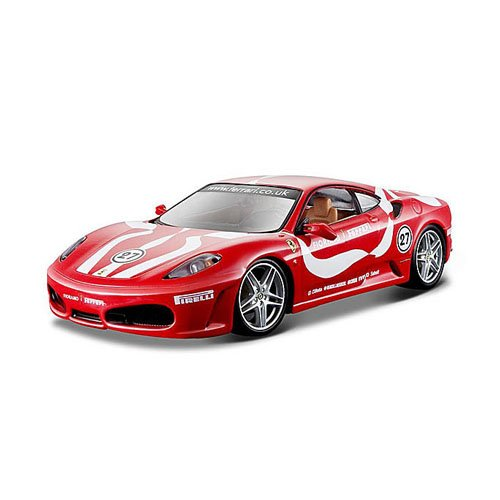 Bburago 1:24 Scale Ferrari Race and Play F430 Fiorano Diecast Vehicle