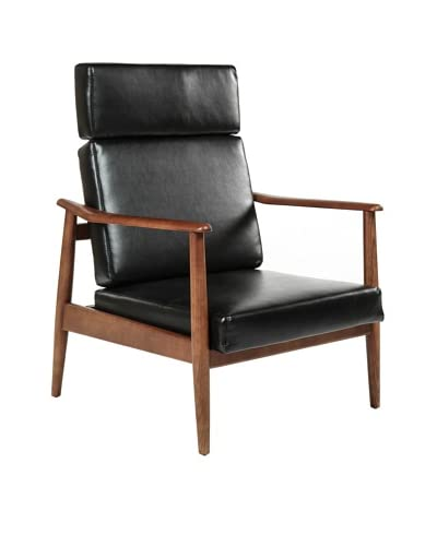 Control Brand Aalborg High-Back Chair, Black