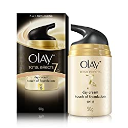 Olay Total Effects 7-in-1 Anti-Ageing Touch Of Foundation Normal SPF15, 50g