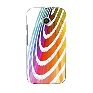 Snazzy Printed Back Cover for Moto E2 (Motorola)