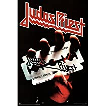 Judas Priest (British Steel, Logo) Music Poster Print