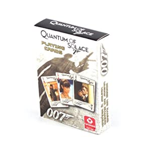 Amazon.com: James Bond 007 Quantum Of Solace Playing Cards by