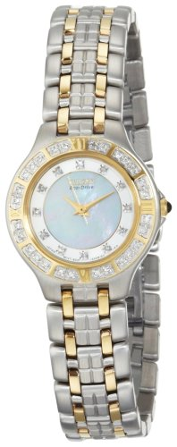 Citizen Women&#8217;s EP5614-51D Eco-Drive Lucca Diamond Accented Watch