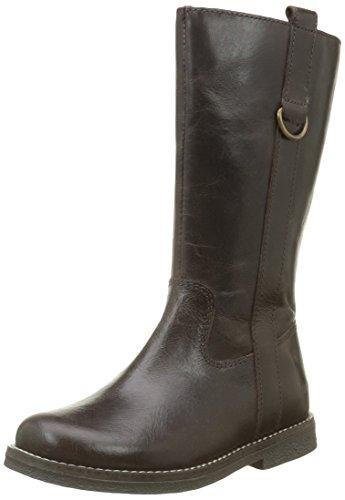 AsterLana - Stivali classici al ginocchio Bambina , marrone (Marrone (Marrone)), 34 EU