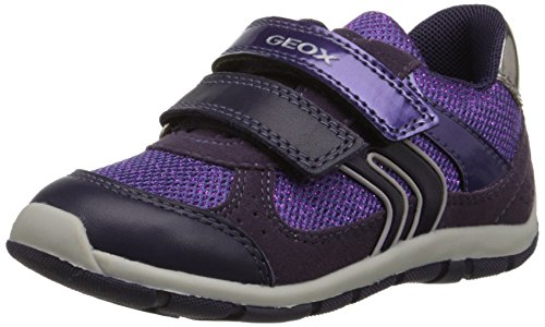 Geox Baby Shaax G 7 Sneaker (Toddler), Prune, 27 EU(10 M US Toddler)