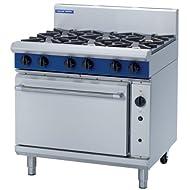 Blue Seal 6 Burner Fan Oven Range - G56D - 900(w)812(d)915(h)mm - Pack Size: Single