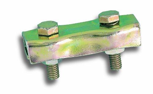 chapuis-vcp00-lote-de-2-sujetacables-planos-con-2-pernos-acero-galvanizado-para-cable-de-2-mm-de-dia