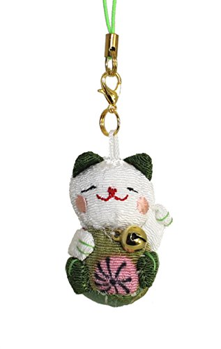 lucky-cat-smartphone-cell-phone-charm-white-green