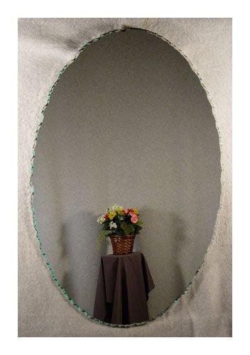 Chipped Edge Frameless Wall Mirror