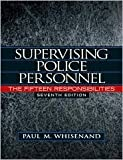 img - for Supervising Police Personnel 7th (seventh) edition Text Only book / textbook / text book