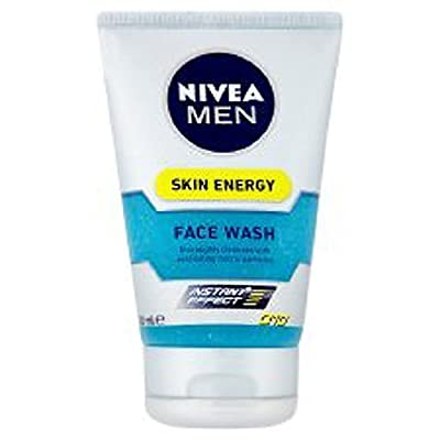 Cheapest Nivea For Men Skin Energy Face Wash Q10 - 100ml (3.4 oz) from Nivea - Free Shipping Available