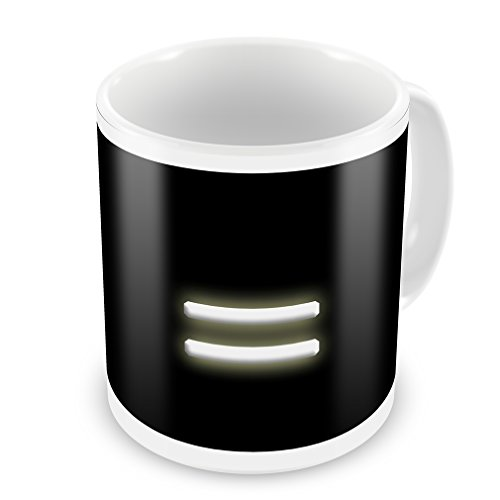 Coffee Mug = Blank Characters, Letter - Neonblond
