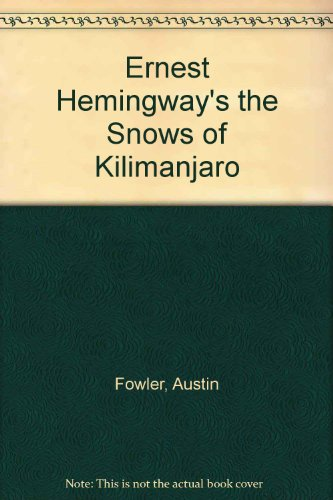 a comparison of the snows of kilimanjaro by ernest hemingway and the death of ivan ilych by leo tols The snows of kilimanjaro by ernest hemingway and the death of ivan ilych by leo tolstoy are both excellent literary works that both deserve equal praise.