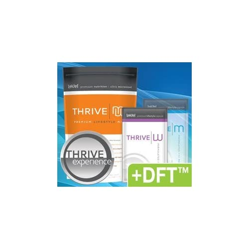 6 day trial of the remarkable Thrive products. You'll receive 6 packages of each of the Nutritional Supplements, 6 Protein Shakes, 6 DFT Patches and 6 Thrive W - Premium Lifestyle packages (12 Capsules). THRIVE W is a premium formula and a premium ap...