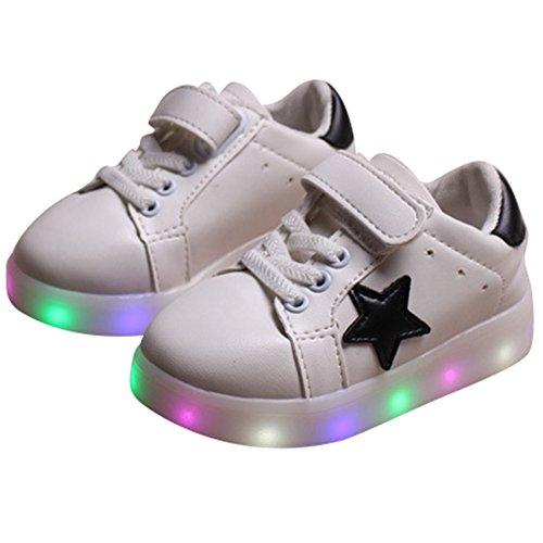 Highdas-Cuero-Nio-Nia-Prewalker-Light-Up-Zapatos