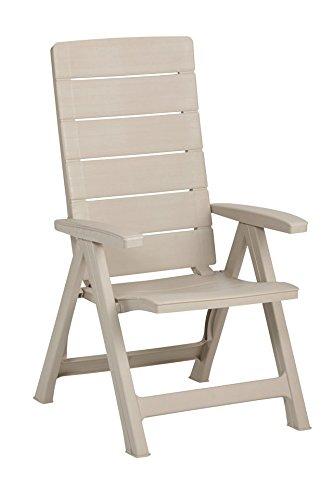 BEST Gartensessel »2 Stück« 2 Stühle, cappuccino günstig kaufen