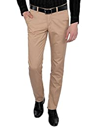 Only Vimal Men's Biscoti Slim Fit Cotton Chinos