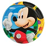 Mickey's Clubhouse Dessert Plates, 8ct