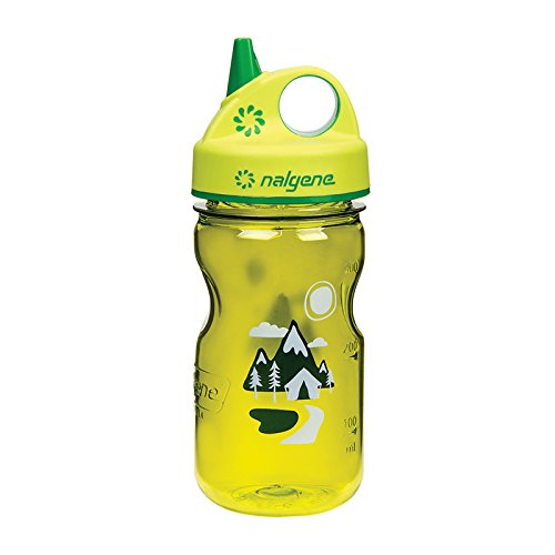Nalgene Grip 'n Gulp Trail Bottle, Green - 1