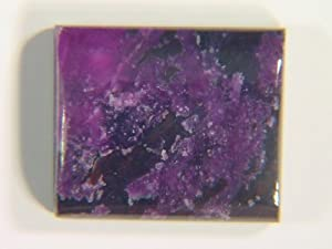 Genuine Sugilite Free Form 16x13x4mm Cabochon Lapidary 12ct Gemstone