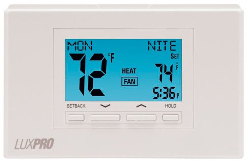 Lux P722U Universal 7-Day Programmable Or Manual Thermostat